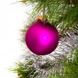 Christmas-tree decorations — Stock Photo