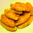 Pirogi pies patty food tasty national kitchen — Stock Photo