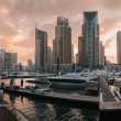 Stock Photo: Marinbuildings uae