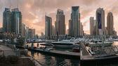 Marina budov spojené arabské emiráty — Stock fotografie