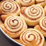Cinnamon buns — Stock Photo #19519265