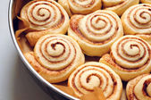 Cinnamon buns — Stock Photo