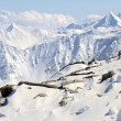 Winter mountain landscape of Austrian Alps — Stock Photo