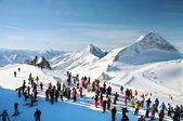 At ski resort — Stock Photo