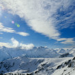 Winter mountain landscape at Bansko — Stock Photo