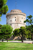 The White Tower at Thessaloniki — Stock Photo