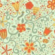 Summer pattern - Stock Vector