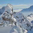 Stock Photo: Winter mountains, AustiAlps