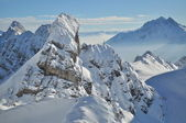 Winter mountains, Austian Alps — Stock Photo