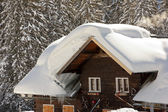 Snow on Roofs (1) — Stock Photo