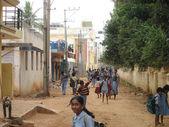 Bangalore School Children — Stock Photo