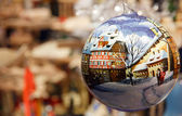 Christmas in Germany in a Ball — Stock Photo