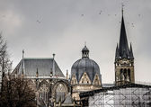 The spires of the Imperial Cathedral — Stock Photo