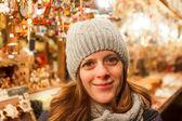 At the Christmas Market — Stock Photo