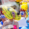 Pop-Art Drag Queen am Christopher Street day — Lizenzfreies Foto