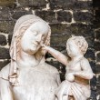 Christ points to Mary — Stock Photo
