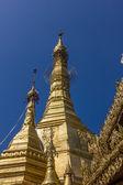 Sule Pagoda main zedi — Stock Photo