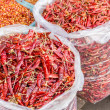 Bags of Chilis — Stock Photo #44960169