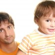 Father and son — Stock Photo #19735915