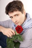 Atraktivní muž — Stock fotografie