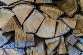 Burned wood — Stock Photo