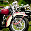 Old motorcycle festival — Foto Stock