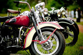 Old motorcycle festival — Stock Photo