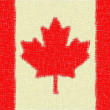 Stock Photo: Canadiflag