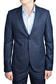 Checkered suit for men — Stock Photo