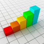 Business growing chart — Stock Photo #20106727