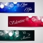 Valentine banners — Stock Vector #39376673