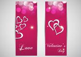 Shiny love template — Stock Vector