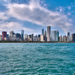 Stock Photo: Skyline of Chicago