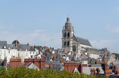 Cathedral of Blois (France) — Stock Photo