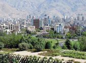 Tehran city — Stock Photo