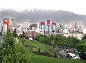 Città di tehran — Foto Stock