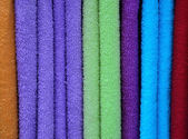 Colorfull towels — Stock Photo
