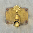 Antique Brass Dripping Tap - Stock Photo