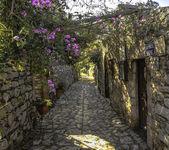Can Yucel street in old Datca, Mugla, Turkey — Stock Photo