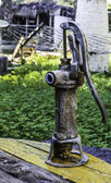 Old water pump — Stock Photo