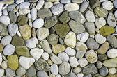 Riverstone floor — Stock Photo