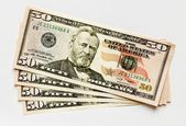 Fifty US Dollar — Stock Photo
