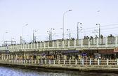 Galata bridge in Istanbul, Turkey — Stock Photo