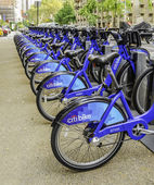 Citi bike in New york — Stock Photo