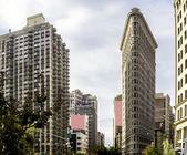 Flatiron building in Manhattan, New York — Stock Photo
