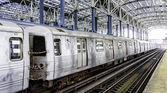 Subway station at Coney Island - Brooklyn, NY — Stock Photo