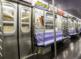 New York City Subway Train — Zdjęcie stockowe
