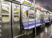 New York City Subway Train — Stock Photo