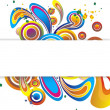 Royalty-Free Stock Vectorielle: Round Swirls Banner