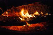 огонь & камин — Стоковое фото